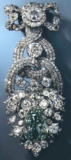 The Dresden Green Diamond...