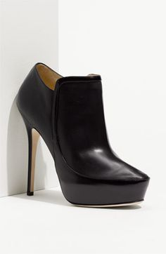 Jimmy Choo 'Decoy' Platform Bootie in Black