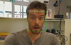 Angus.ai API can determine facial expression and much more - http://www.programmableweb.com/news/daily-api-roundup-atom.io-applozic-angus.ai-plus-9-more-apis/brief/2015/10/03