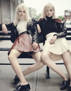 It's leather weather, so dress like it. Get inspired by leather-loving fashion editorials on wmag.com.