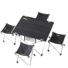 Outdoor Fishing Camping Foldable Table and Chairs Fishing Camping Garden Table and Chairs Fishing Camping Travel Kits Tag a friend who would love th. Camping Table, Camping Chairs, Camping Gadgets, Camping Tips, Hiking Supplies, Foldable Chairs, Garden Table And Chairs, Fish Camp, Travel Kits