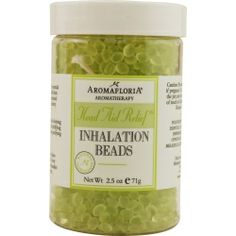 Inhalation beads 2.5 oz blend of tea tree, rosemary, and peppermint (preservative free)