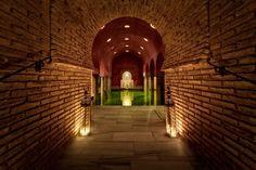 Sala templada, baños árabes Hamman. #Granada