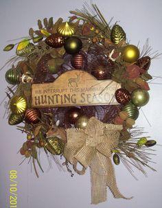 Hunting Wreath $120