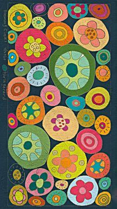 Blooming Circles by Karla Gerard