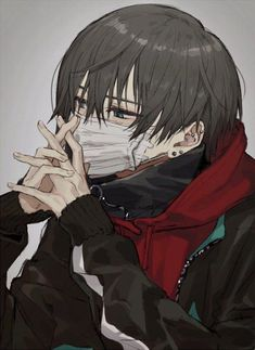 1501 best hot anime boy images in 2019 Dark Anime, Anime Drawings Boy, Cute Anime Guys, Anime People, Anime Characters, Boy Art, Anime Drawings, Aesthetic Anime