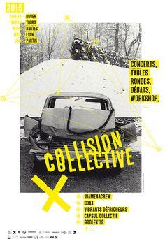 collision boncaillou poster by boncaillou