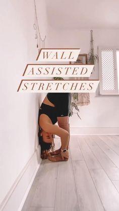 Yin Yoga, Yoga Meditation, Yoga Videos, Workout Videos, Fit Board Workouts, At Home Workouts, Wall Yoga, Yoga Moves, Flexibility Workout
