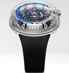 ‪Interested in our top ten watches of #SIHH2018? Here's the HYT H20. To see what else made the cut, head to aBlogtoWatch.com.