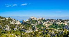 Les Baux De Provence Village Panoramic View. France, Europe. Monuments, Beaux Villages, France Europe, San Francisco Skyline, Grand Canyon, River, Salons, Outdoor, Old Houses