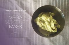 I love a super moisturizing mask! This one has one of my fav natural moisturizers: avocado!