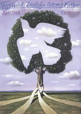 Rafal Olbinski exhibition and theater posters