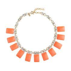 J Crew Tile necklace