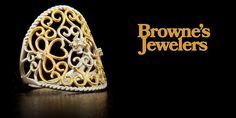 Browne's Jewelers would like to wish everyone a very Happy Valentine's Day! Happy Valentines Day, Fine Jewelry, Jewels, Jewelery, Happy Valentines Day Wishes, Gemstones, Jewelry, Jewerly, Gems