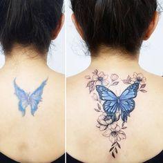 Learn more about tattoo styles and the work of Carla - carlagalvaotattoo (Tattoo artist). Life Tattoos, Cool Tattoos, Tattoo Apprentice, Tattoo Feminina, Cover Up Tattoos, Piercing Tattoo, Tattoo Shop, Back Tattoo, Tattoo Models