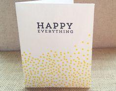 Happy Everything Christmas Card ©2013 designcorral.com #printables #freecards #christmascard