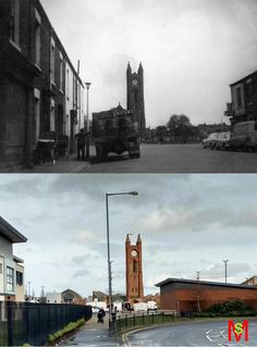 Cromwell Street, North Ormesby, Middlesbrough  1970 & 2016