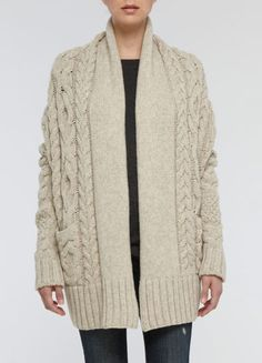 Vince CABLE COCOON SWEATER