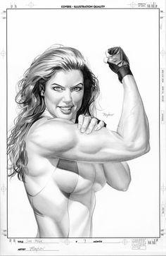 She-Hulk - Mike Mayhew