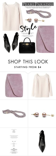 """""""Lavender Style by Pearl Paradise"""" by pearlparadise ❤ liked on Polyvore featuring Rebecca Taylor, Rebecca Minkoff and Mulberry"""