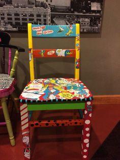 Beau Dr. Suess Chair Decopauged