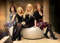 Lynn Hilary, Mairead Nesbitt, Lisa Kelly and Chloe Agnew (left to right) are Celtic Woman.