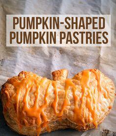 Pumpkin-Shaped Pumpkin Pastries
