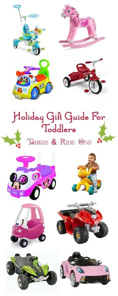 Can't decide what to get your toddler this year? Take a look at this awesome gift guide featuring the best trikes and ride ons you can buy! Used Cars Near Me, Cars For Sale Used, Gifts For Your Mom, Gifts For Kids, Holiday Gift Guide, Holiday Gifts, Toys For Girls, Kids Toys, Christmas Toys