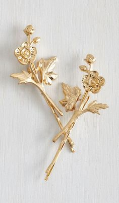 Fleur-ever and a Day Hair Pin Set