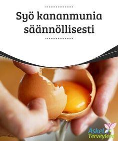 Syö kananmunia säännöllisesti   Tässä #artikkelissa otamme selvää siitä, mitä #terveysvaikutuksia kananmunalla on, ja toivottavasti saat uutta inspiraatiota kananmunien #syömiseen.  #Terveellisetelämäntavat