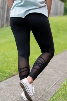 a4bd5cee2ae Peek-a-Boo Workout Pants (Black)
