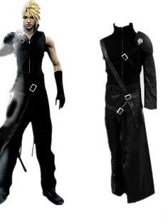 Final Fantasy VII Cloud Strife Men's Cosplay Costume
