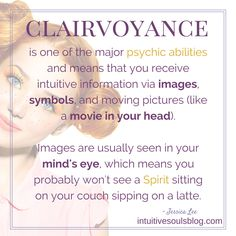 Learning the art of Clairvoyance psychic ability and how developing clairvoyant abilities can increase psychic awareness. Spiritual Life, Spiritual Awakening, Spiritual Wellness, Spiritual Guidance, Intuitive Empath, Witchcraft For Beginners, This Is Your Life, Psychic Development, Psychic Mediums