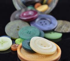 Spilled Buttons in Studio