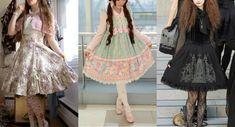 Lolita – List of styles Style Lolita, Silhouette, Lolita Fashion, Cyber, Punk, Classic, Alice, Blog, Country
