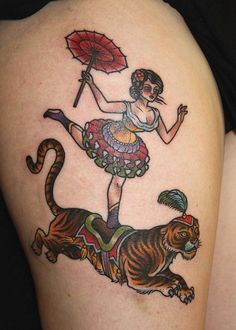 Beautiful Circus Tattoo