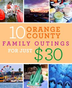 Looking for cheap family fun in Orange County? I have put together 10 fun family outings that cost about $30 for a family of 4.