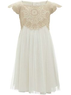 Baby Girl Gold Estella Sparkle Dress..Do love this for flower girl! will depend on color of my dress!
