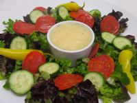 Get the best Olive Garden Italian Salad Dressing Fat-Free recipe on the ORIGINAL copycat recipe website! Todd Wilbur shows you how to easily duplicate the taste of famous foods at home for less money than eating out. Jimaca Recipes, Fat Free Recipes, Copycat Recipes, Food Network Recipes, Gourmet Recipes, Healthy Recipes, Dressing Recipe, Salad Dressing, Olive Garden Dressing