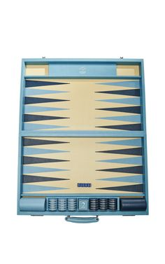 Hand-Crafted Leather Backgammon Case ~ Geoffrey Parker