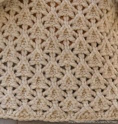 Cool Knitting Stitch: free chart, pattern in Russian