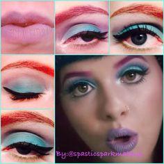"Melanie Martinez ""carousel"" inspired makeup.  Follow my makeup Instagram: @spasticsparkmakeup"