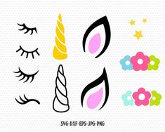 Image Result For Unicorn Horn And Ears Template Templates