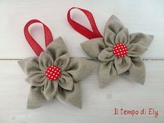 idea for fabric flower