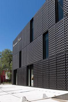 Cladding Design, Metal Cladding, Facade Design, Exterior Design, Factory Architecture, Facade Architecture, Historical Architecture, Building Skin, Building Facade