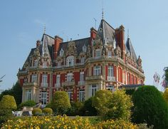 Chateau Impney, Worcestershire, England, UK