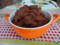 Frijoles licuados - ¡Muy fáciles y rápidos de hacer! Frijoles Refritos, Le Chef, Mashed Potatoes, Tacos, Muffin, Pudding, Ice Cream, Breakfast, Ethnic Recipes