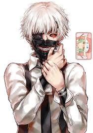 Resultado de imagen para kaneki ken chibi white hair