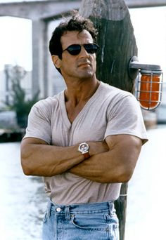 """Sylvester Stallone - Just watched him in, """"Grudge Match,"""" and he still looks good in his older years. Sylvester Stallone, Hollywood Men, Hollywood Stars, Keanu Reeves, Stallone Rocky, Jackie Stallone, Grudge Match, John Rambo, The Expendables"""