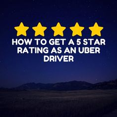 When it comes to driving for Uber, anything less than a 5 star rating is considered failing in their books. This causes a necessity to perform well on the Uber Uber Driving, Uber Ride, How To Make Money, How To Become, How To Get, The Path Show, Best Gift Cards, Free Printable Cards, Drive Me Crazy